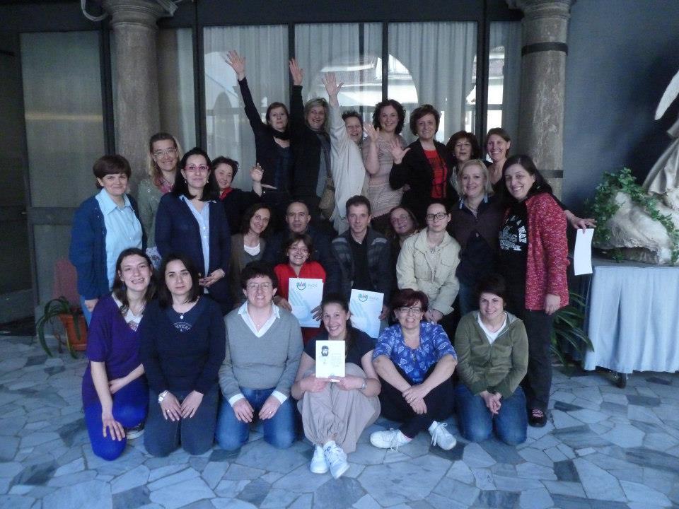 17 Aprile 2013: Laboratorio di Infermieristica Teatrale per le colleghe dell'Ipasvi di Como. A tutte/i Grazie, buon lavoro e Pace.