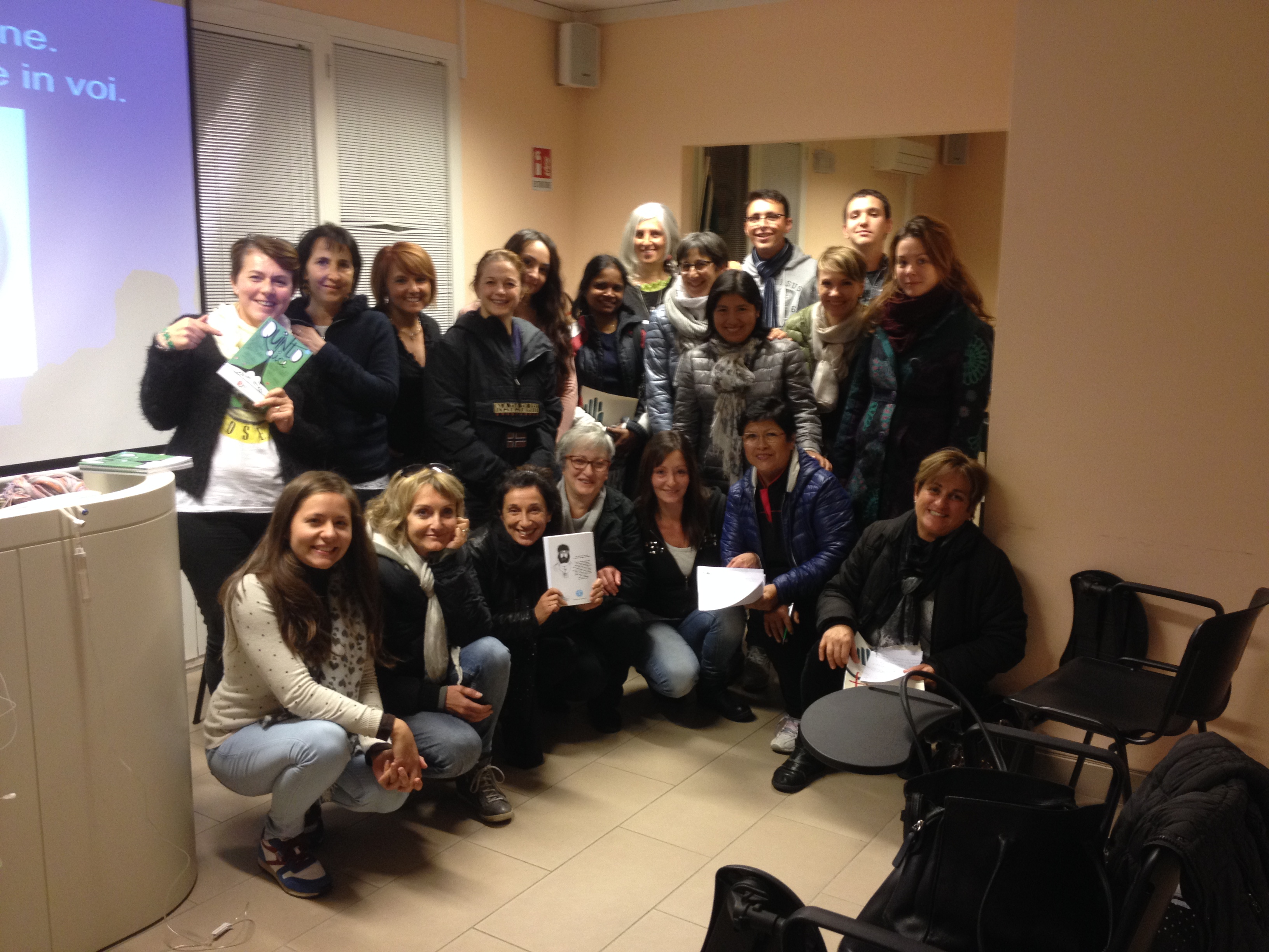 Laboratorio di Infermieristica Teatrale all'Ipasvi di Firenze. Un grazie enorme e un buon lavoro a tutte/i!