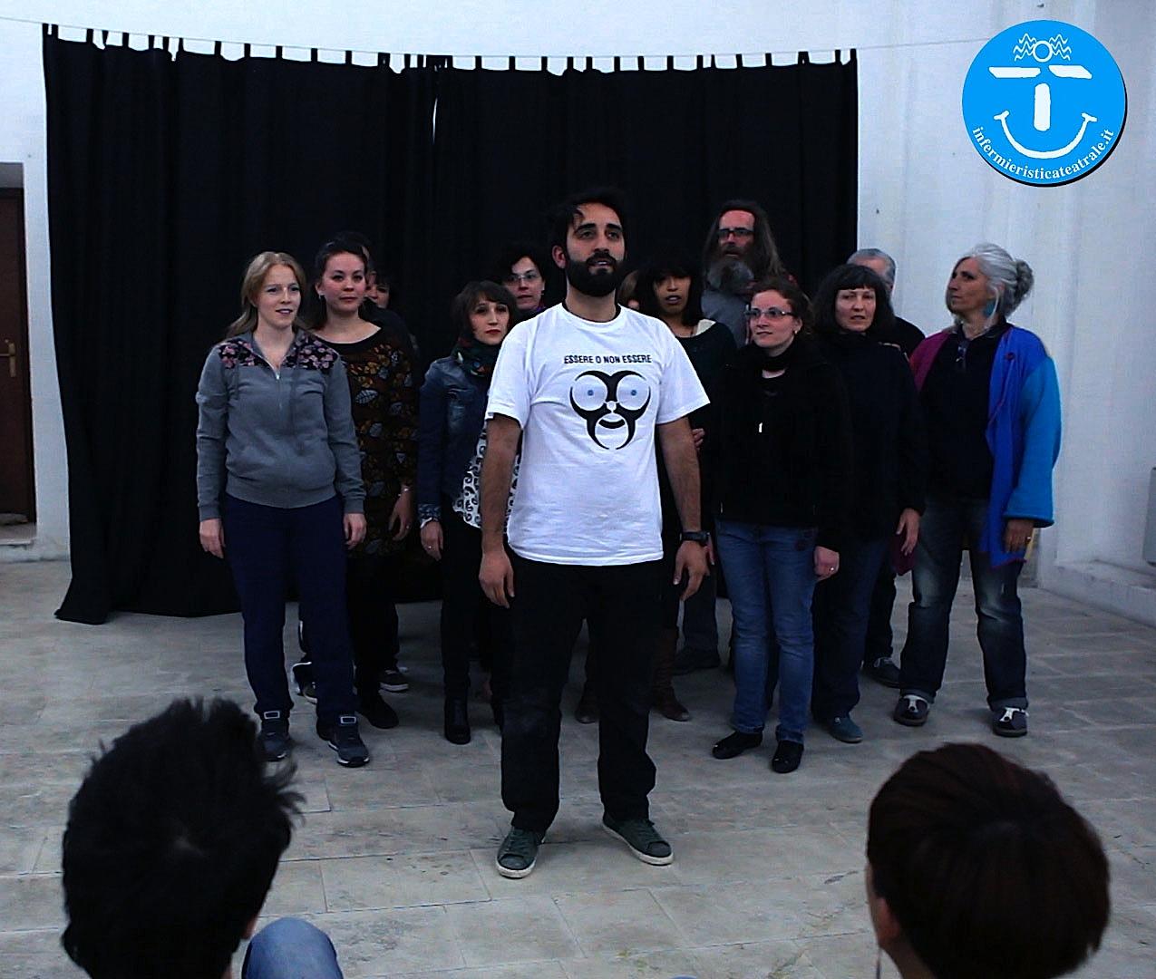 Laboratorio Residenziale di Infermieristica Teatrale: Modulo Base (Aprile 2016). Com'è andata.